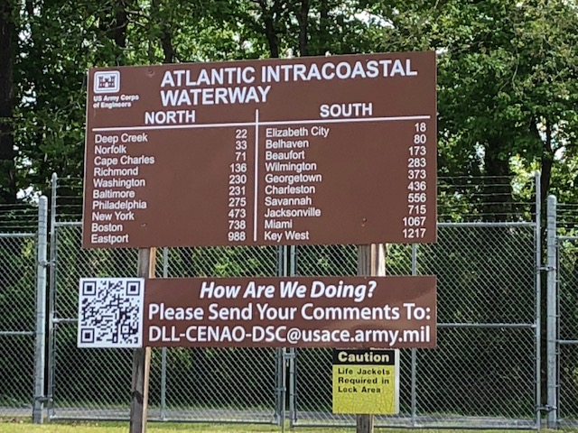 Atlantic ICW Mills Lock