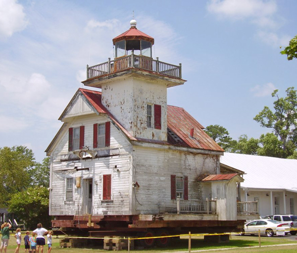 Pre-Restoration Lighthouse
