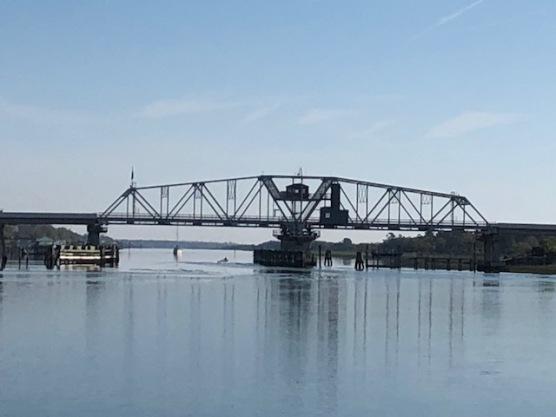 Swing Bridge Closed